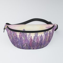 Lavender Field At Dusk Fanny Pack