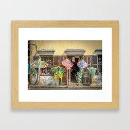 Kites in Hoi An Framed Art Print