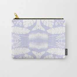 Snow Leaves Seamless Pattern Carry-All Pouch