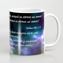 Estrellas en galaxia - Salmo 136, 2-3 Coffee Mug