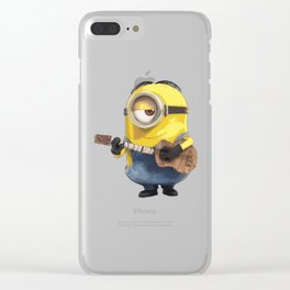 MINIONS Clear iPhone Case