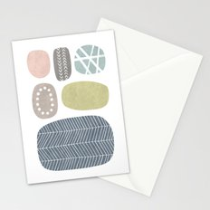 Painted Stones Stationery Cards