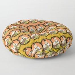 Ukulele musician Floor Pillow