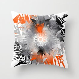 Ninja Tiger Throw Pillow
