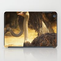 ostrich iPad Cases featuring Ostrich by Unfocussed