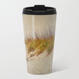 Beach Grass and Sugar Sand Travel Mug