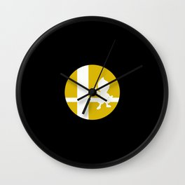 Super Smash Bros Wall Clock