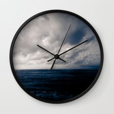 summer ver.navyblack Wall Clock