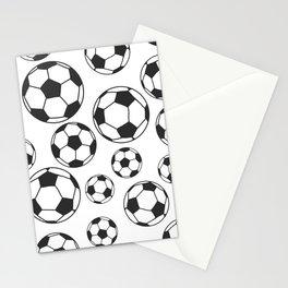 Soccer Balls Stationery Cards
