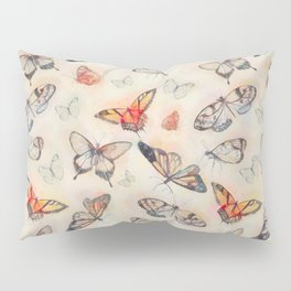 Summer Butterflies Pillow Sham
