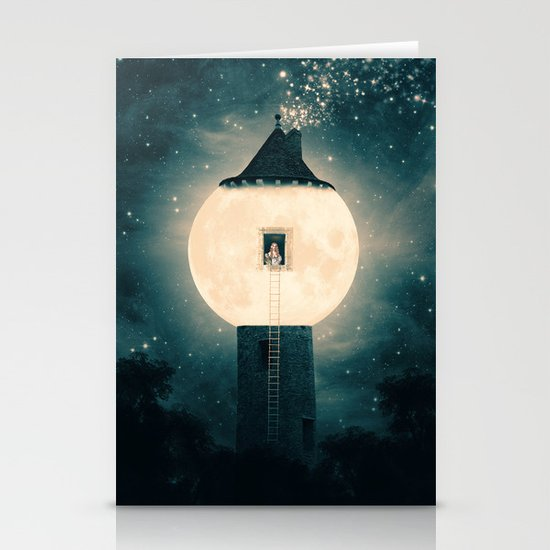 The Moon Tower Stationery Cards