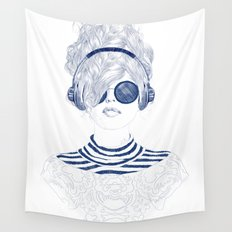 Groove Baby Wall Tapestry