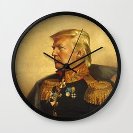 Donald Trump - replaceface Wall Clock