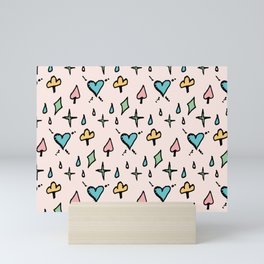 Ace Of Spade Mini Art Print