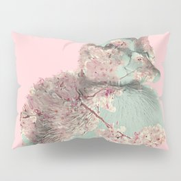 Cherry Blossom Baby Duck Pillow Sham