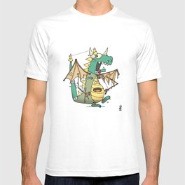 A Kobold in Dragon Clothing T-shirt