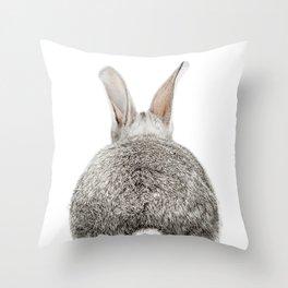 Bunny Tail Throw Pillow