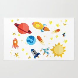 Space Time Rug