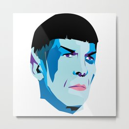 Dottor Spock Metal Print