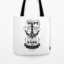 Hebrews 6:19 Tote Bag