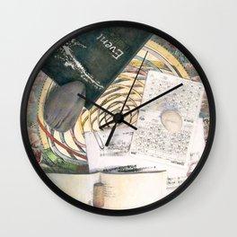 time (trompe l'oeil) Wall Clock