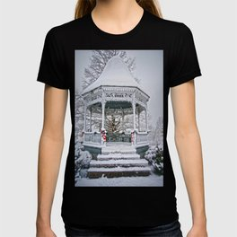 Gazebo in the Snow T-shirt