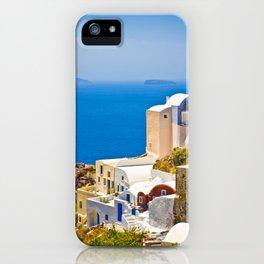 Santorni iPhone Case