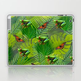 Frogs and Monarchs Laptop & iPad Skin