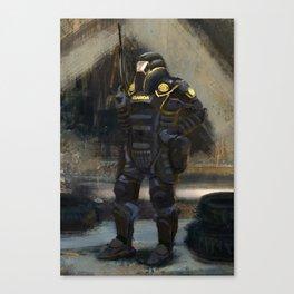 Dystopian Garda Canvas Print