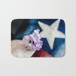 Lilac & The Lone Star Bath Mat