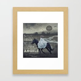 Angels Unaware Framed Art Print