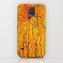 Neural Activity (An Ode to Cajal) iPhone Case