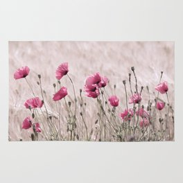 Poppy Pastell Pink Rug