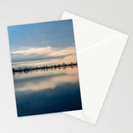 Sunrise over Osoyoos lake British Columbia Canada  Stationery Cards