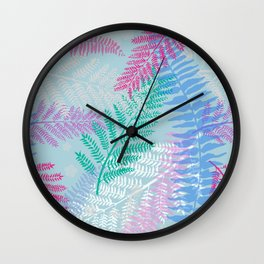 Rainforest by Day Wall Clock