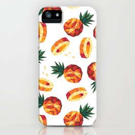 Edgy Pineapple iPhone Case