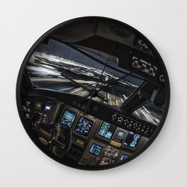 32R Clear to land Wall Clock