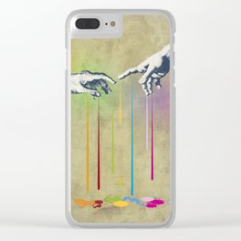 But deliver Us from Evil Clear iPhone Case
