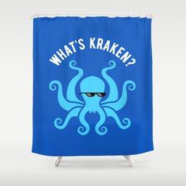 What's Kraken? Shower Curtain