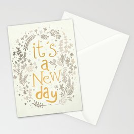 It's A New Day Stationery Cards