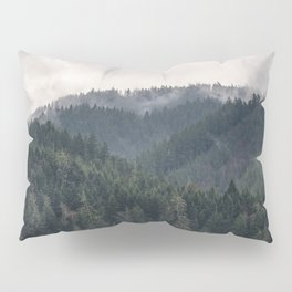 Pacific Northwest Forest - Nature Photography Pillow Sham