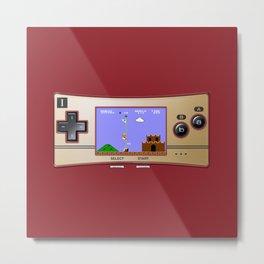 Gameboy Micro Classic Metal Print