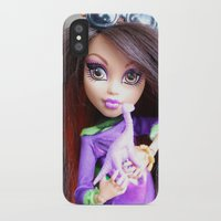 monster high iPhone & iPod Cases featuring Monster High: Howleen Wolf custom from The Blank Flank by Amy McWilliams - The Blank Flank