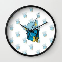 Sleeping in the Poket Wall Clock