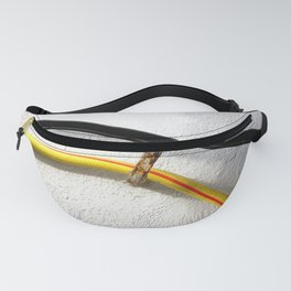 Water hose wall railing Fanny Pack