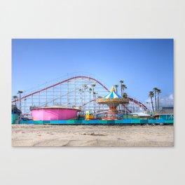 Santa Cruz Summer Canvas Print