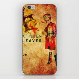 Kathleen Neal Cleaver iPhone Skin
