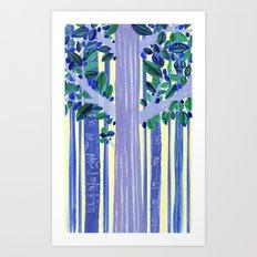 In the wood Art Print