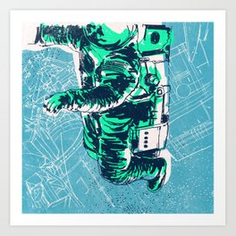 OrbitalFleets Crew Series: No.2 Art Print