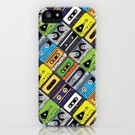 Colored Cassette iPhone Case